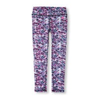 Girls PLACE Sport Zoom Print Performance Leggings | The Children's Place