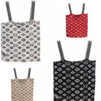 Louis Vuitton & Supreme LV Summer new slim tube top sexy short paragraph navel camisole female t-shirt four color