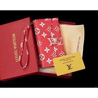 LV Louis vuitton GUCCI fashion new pair leather monogrammed iPhone case