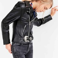 US By Understated Leather for UO Western Biker Jacket