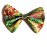 Bambi Floral Hair Bow, Bow tie