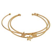 Three Star Bangle Set