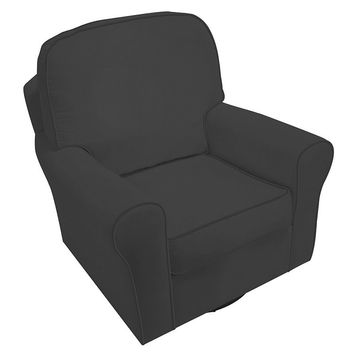 Komfy Kings Brayden Velvet Glider Chair