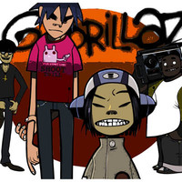 The Gorillaz Band Poster 11x17