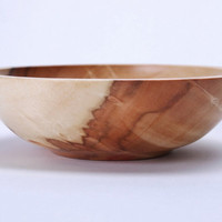 Flame Box Elder Burl Wooden Bowl 935