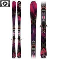 SuperFree 76 Womens Skis with K2/Marker ER3 10 Bindings 2014