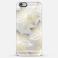 Gold Flowers on Wood iPhone 5s case by Tangerine- Tane | Casetify