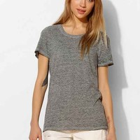 Monrow Oversized Tee- Grey