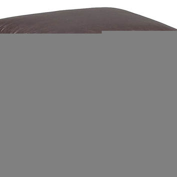 Color Customizable Leather Ottoman Liri by Natuzzi Editions