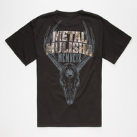 Metal Mulisha Realtree Six Point Mens T-Shirt Black  In Sizes