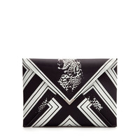 TIGER PRINT CLUTCH BAG - Handbags - Woman - ZARA United States