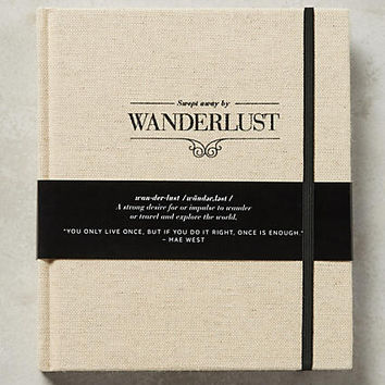 Swept Away By Wanderlust Fill-In Journal