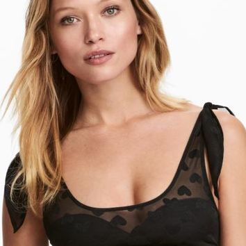 Bra Top - Black - Ladies | H&M CA