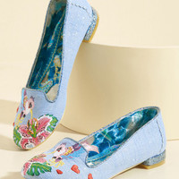 Irregular Choice Hum by It Honestly Flat | Mod Retro Vintage Flats | ModCloth.com