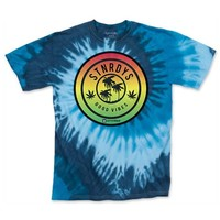 MEN'S BLUE STNRDYS TIE DYE TEE