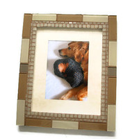 Neutral Mosaic Picture Frame