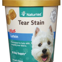 Tear Stain Plus Lutein Soft Chew 40Ct