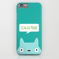 My Neighbor III | Konnichiwa iPhone & iPod Case by Miss L In Art