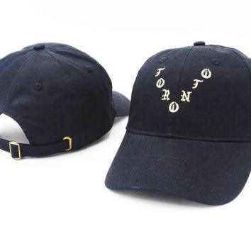 Kanye Pabl Embroidered Baseball cotton cap Hat