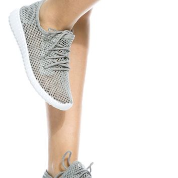 Light Grey Mesh Lace Up Sneakers @ Cicihot Women Sneakers-Fashion Sneakers,Casual Sneakers,Wedge Sneakers,Platform Sneakers,Hidden Wedge Sneakers,High Top Sneakers,Lace Up Sneakers,Studded Sneakers,Buckle Sneakers