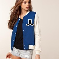 Virginia Fleece Jacket - WESC - Bl? - Tr?jor - Sportkl?der - NELLY.COM Mode online p? n?tet