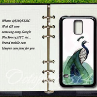 samsung galaxy S3mini / S4mini case,Peacock,samsung galaxy S3 / S4 / S5 / note 3 / note 2 / S4 active case,Blackeberry Z10 case,Q10 case