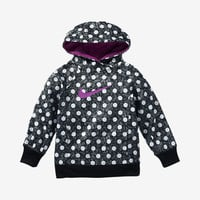 The Nike KO 3.0 Printed Pullover Toddler Girls' Hoodie.