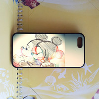 Mickey And Minnie Mouse Couple iPhone 5C case,iphone 5S case,iphone 5 case, iphone 4 case,samsung note3 case,samsung s4 active,ipod 5 case