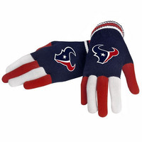 Official NFL Houston Texans Gloves Choose Style