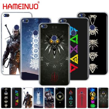 HAMEINUO The Witcher 3 Wild Hunt signs Cover phone Case for huawei Ascend P7 P8 P9 P10 lite plus G8 G7 honor 5C 2017 mate 8