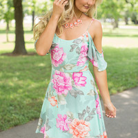 Loved You From The Start Floral Dress