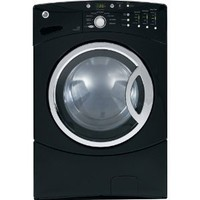 GE WCVH6800JBB 27 4 cu. Ft. Front-Load Washer - Black
