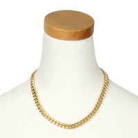 Glam Chain Link Necklace | Claire's