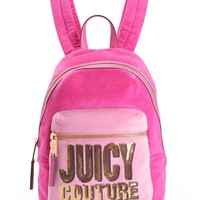 Juicy Velour Backpack by Juicy Couture