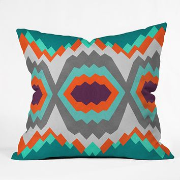 Elisabeth Fredriksson Valley Pattern Throw Pillow