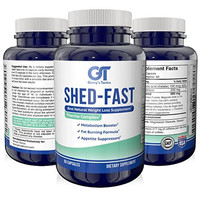 SHED-FAST NEW Weight Loss Fat Burner with Guarana and Green Tea Extract Energy Booster