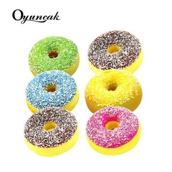 Oyuncak Squishe Antistress Squishy Slow Rising Stress Relief Novelty & Gag Toys Gadget Anti-stress Jumbo Donut Funny Keychain