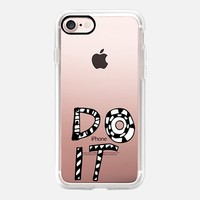 Do It iPhone 7 Case by Vasare Nar | Casetify