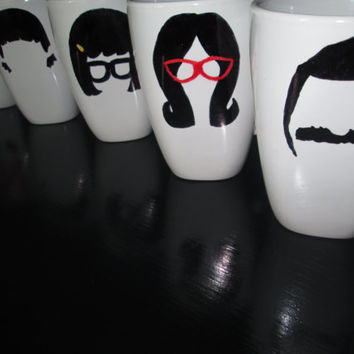 Bob's Burger's Mugs - Set of All 5 Mugs