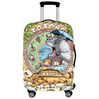 Elastic Luggage Covers Travel Suitcase Dustproof Washable Anti-Scratch Protector 18/20/21/22/24/26/28/30/32 Totoro Design