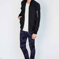 Tripp NYC Navy Blue Over-Dye Wash Skinny-Fit Jean- Navy