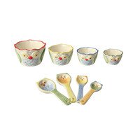 Wise Baker Cups & Spoons Set