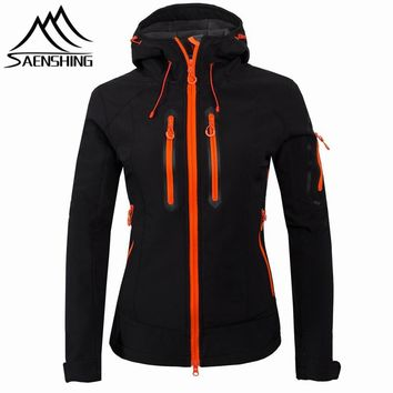 Jacket Women Camping Hiking  Windproof Waterproof Snowboard