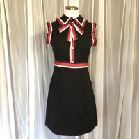 Gucci Women Sleeveless High collar Dress