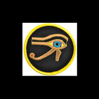 The Eye of Horus Sew-On Patch 3""