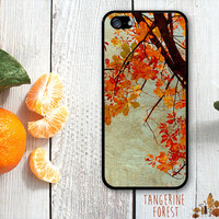 Beautiful Orange Fall Leaves. iPhone 4 // 4s // 5 // 5s // 5c