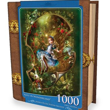 Alice in Wonderland - 1000 Piece Jigsaw Puzzle