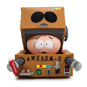 Awesome-O Cartman by South Park x Kidrobot