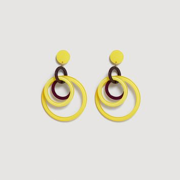 Intertwined hoop earrings - Women | MANGO USA
