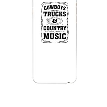 Cowboys, Trucks & Country Music - iphone 6 Case